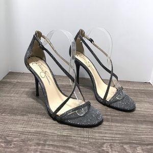 Jessica Simpson Annalesse Strappy Sandals 9 1/2